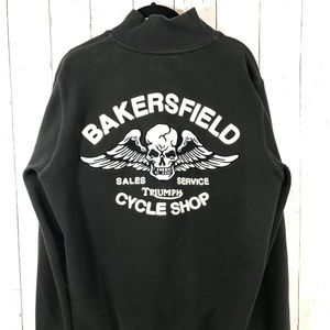Lucky Brand Triumph Motorcycle Jacket Bakersfield